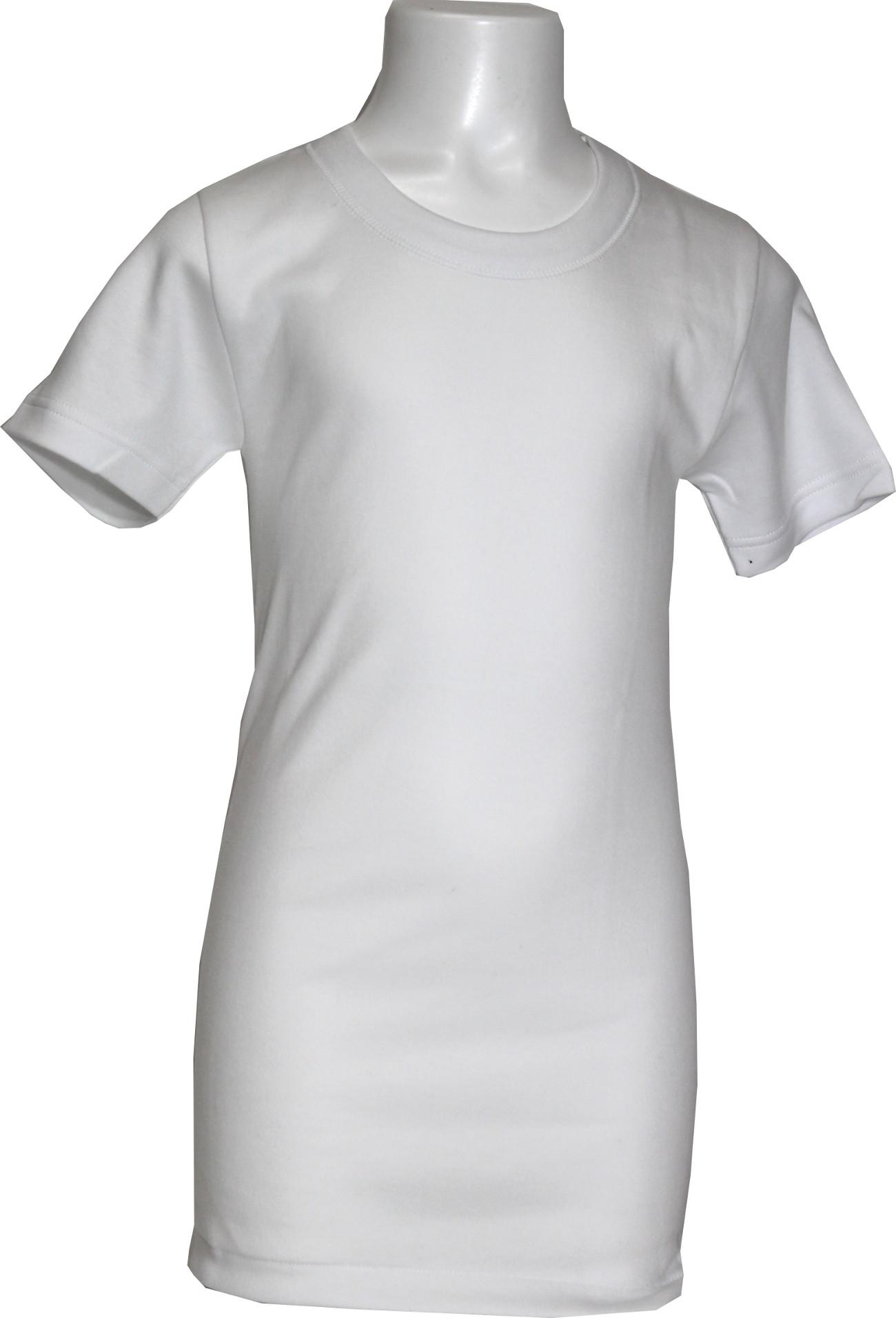 Maglietta manica corta bambino interlock Ma.Re. girocollo-0